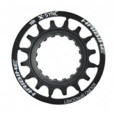 Sprocket eBike f.Bosch XDURO - 2014, fekete acél, 18 t, Gen2