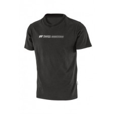 T-shirt DT Swiss Engineering Performance - black w. print size  M