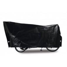 Bike cover Cargo Bike VK - 120 x 295 cm, fekete, incl. 2 nagy szemöldök