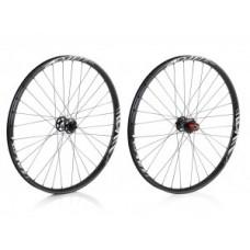 """XLC All MTN 27.5"""" PLUS MTB wheel set - 584-30C cső nélküli fekete"""