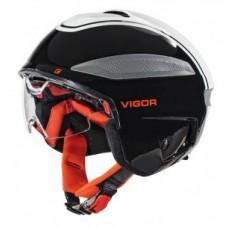 Bike helmet Cratoni Vigor (S-Pedalec) - sz S (54-55cm) fekete / fehér / piros fényes