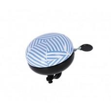 XLC bell Mingun DD-M09 - stripes Ø83mm blue/white
