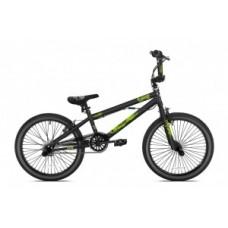 "BMX Madd Freestyle 20"" - matt black/green"