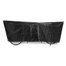 Bike cover Tandem VK - 110 x 300cm, fekete, incl. gyűrűk
