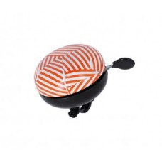 XLC bell Mingun DD-M09 - stripes Ø83mm orange/white