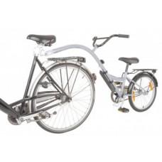 """Children bicycle-trailer Bike Trailer - 20 """"ezüst RH 28 cm"""