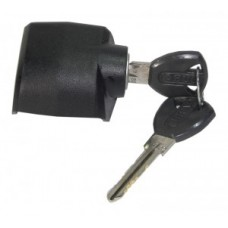 Locking cylinder eBike Abus,casing,sw - fekete, klasszikus elem, a MY 2010-től