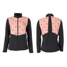 XLC casual woman hybrid Merino fleece - size XS black/pink