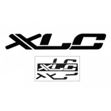 XLC 3D logo sticker - black 45 x 7 x 1cm f. XLC shop wall