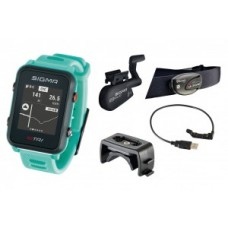 Sport watch Sigma ID Tri Set - neon mint