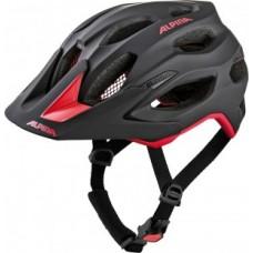 Helmet Alpina Carapax 2.0 - black/red size 57-62cm