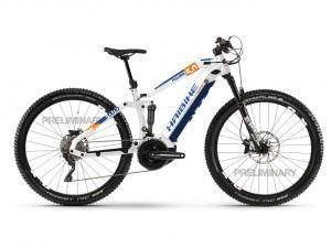 SDURO FullNine 5.0 i500Wh 20 s. XT - 20 HB YSTS white/orange/blue size L