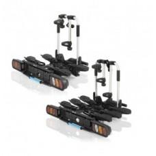 XLC rear rack for coupling - összecsukható, 3 eBikes számára