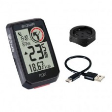 Bike computer Sigma Rox 2.0 - black (GPS mount)