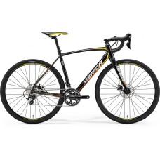 MERIDA 2017 CYCLO CROSS 500 47(XS) FEKETE(SÁRGA/PIROS)