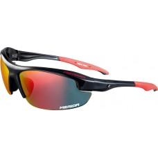 Szemüveg MERIDA SPORT fényes piros fekete - 1088