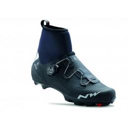 Cipő NORTHWAVE MTB RAPTOR ARCTIC GTX 46, téli, fekete