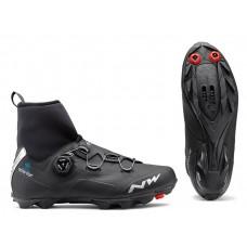 Cipő NORTHWAVE MTB RAPTOR ARCTIC GTX 42, téli, fekete