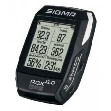 Cycle computer Sigma Rox 11.0 GPS - Állítsa be a fekete színt