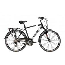 """ADRIATICA Sity 2 700C férfi városi kerékpár   2020   28"""" - 50 cm - fekete"""