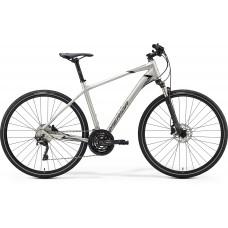 "MERIDA CROSSWAY 600 cross trekking kerékpár   2020   28"" - S (47 cm) - ezüst"