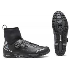 Cipő NORTHWAVE MTB X-RAPTOR ARCTIC 47, GTX téli, fekete