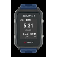 Pulzusmérő Sigma iD.FREE kék