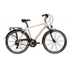 """ADRIATICA Sity 2 700 C férfi városi kerékpár   2020   28"""" - 55 cm - arany"""