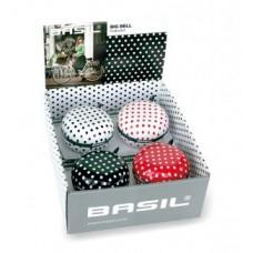 Ding-dong bell Basil Polka Dot - Ø 80mm display 1 box w.4 pcs.