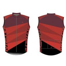 Mellény MERIDA SUSHI szél piros/fekete - 740679-422