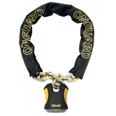 Onguard chain w. U-lock - Szörnyeteg 8018 180 cmx 12 mm