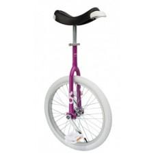 "Unicycle OnlyOne 20"" fuchsia - alu rim wheel white"