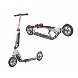 "City Scooter Big Wheel Air Hudora Alu 8"" - Air205 fehér / ezüst 205mm"