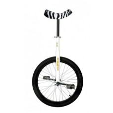 "UnicycleQU-AX20""Luxus white,zebra saddle - 1105 w. alumínium felni"