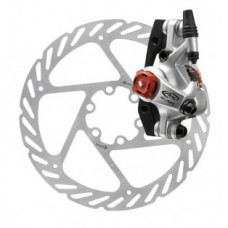 Disc brake Avid BB7 MTB mechanical - grafitszürke, 160 mm-es FW / RW lemez