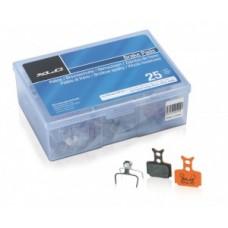 XLC disc brake pads Formula Mega one - Workshopbox, 25 készlet (Rp per Set)