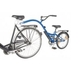 """Children bicycle-trailer Bike Trailer - 20"""" blue RH 28 cm"""