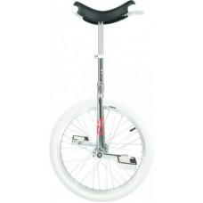 "Unicycle  OnlyOne 20"" chrom Indoor - Alurim, gumiabroncs fehér"