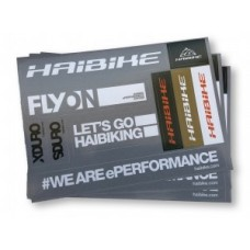 Haibike sticker set - DIN A6 respectively 25 pieces