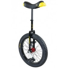 """Unicycle QU-AX Muni Starter 20"""" black - Alurim, gumiabroncs fekete"""