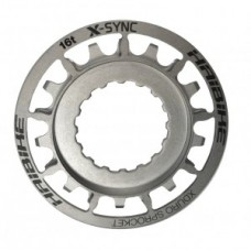 Sprocket eBike f.Bosch XDURO 16t - rozsdamentes stell ezüst, Gen2 2014