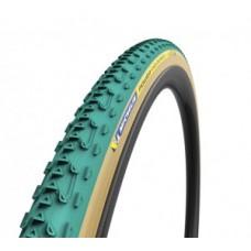 "Tyre Michelin Power Cyclocross Jet fb. - 28"" 700x33C 33-622 green tubular"