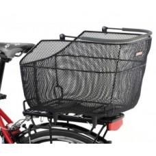 Rear wheel basket Pletscher  Deluxe XXL - Pletscher system close mesh.anthracite