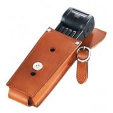 Collaps.lock Trelock Manufaktur m.Holder - FS 300/85 fekete w. Bőr