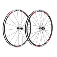 "XLC Pro Racing wheel set - 28 ""fekete, lapos küllõ, fekete"