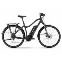 "HAIBIKE SDURO Trekking 1.0 400 Wh női elektromos kerékpár | 2019 | 28"" - XL (56 cm) - fekete"