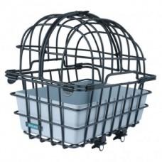 RW pet basket Luna - aluminium 46x33x45cm w. fix.system