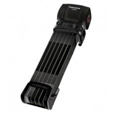 Folding lock Trelock Cops L with mount - FS 460 L / 100, fekete, wmount ZF234X-Move