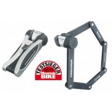 Folding Lock Trelock Cops w. mount - FS 455/85, ezüst, a ZC 401-es csatlakozóval