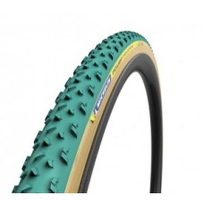 "Tyre Michelin Power Cyclocross Mud fb. - 28"" 700x33C 33-622 green tubular"